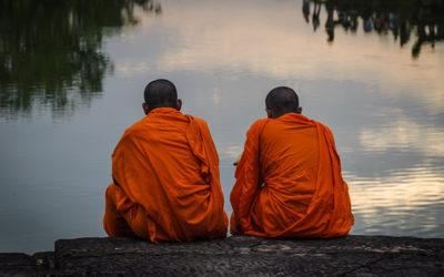 i monaci e la giovane
