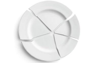 il piatto rotto